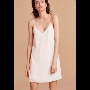 WILFRED FREE Vivienne Slip Dress in Oak Small